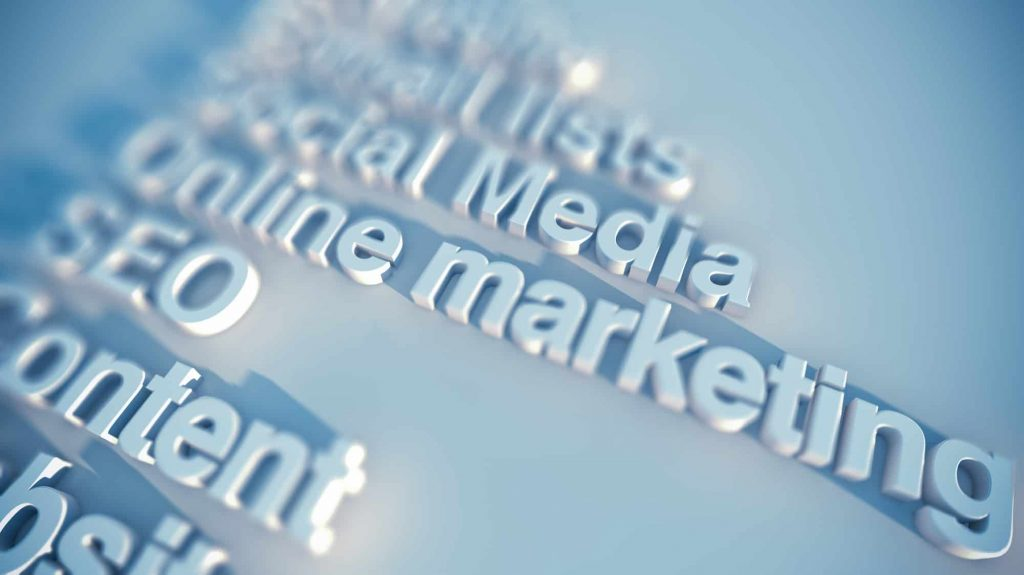 different types of digital marketing