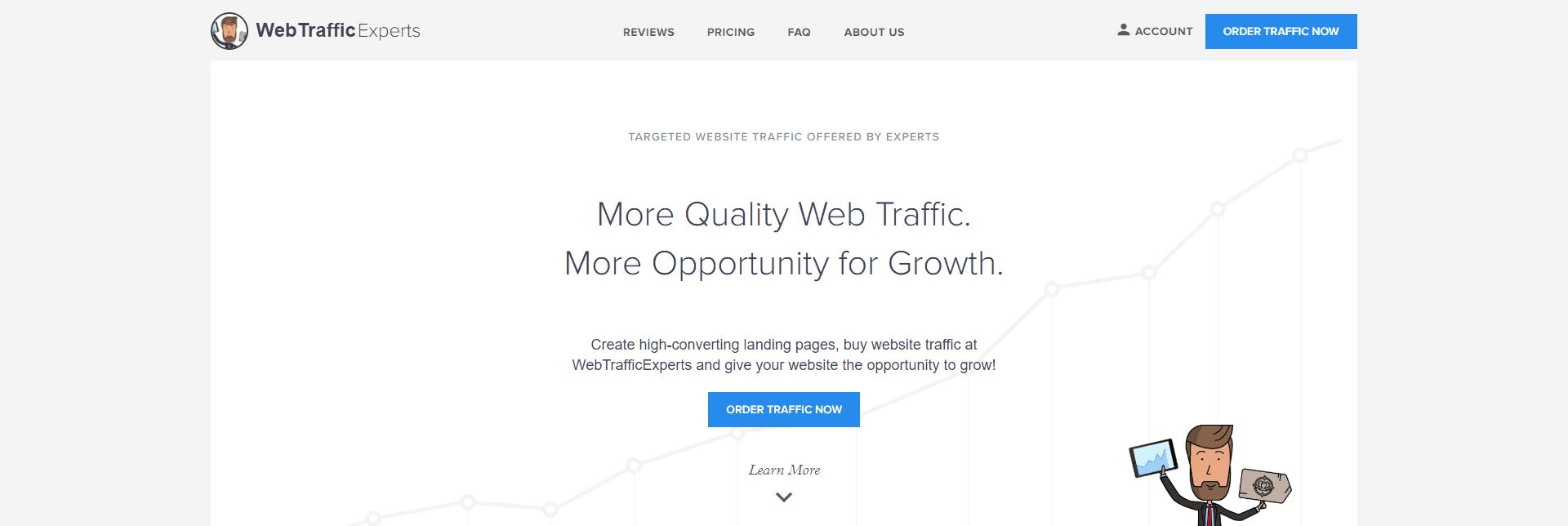 Buying Traffic From BuyWebTrafficExperts.com