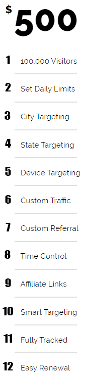 how to order web traffic explained