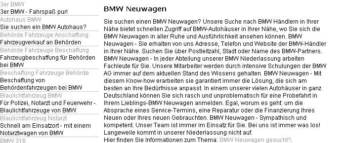 bmw google trouble