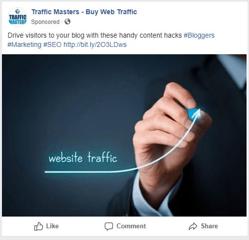 Facebook Sponsored AD